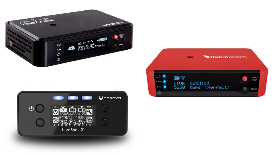 Existen alternativas para transmitir con PC de Cerevo, Livestream y Teradek