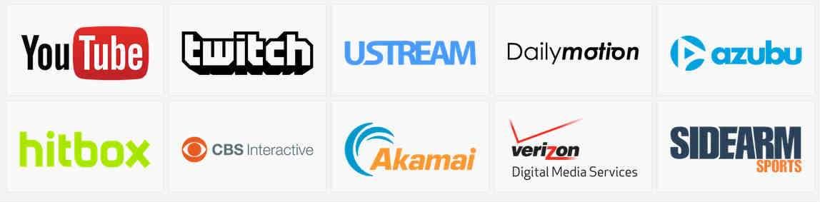 La lista de proveedores de streaming es muy variada