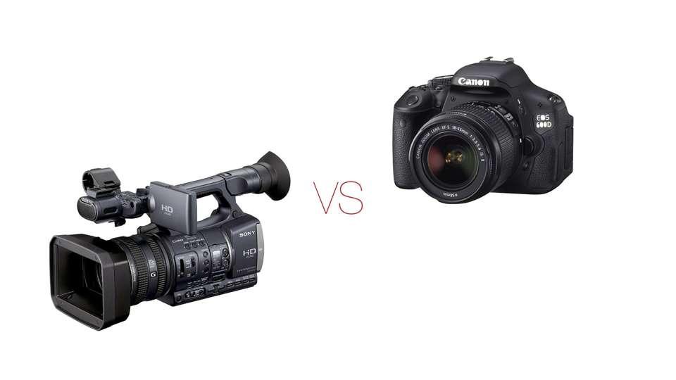 Las cámaras tipo Camcorder tienen ventajas frente a las DSLRs