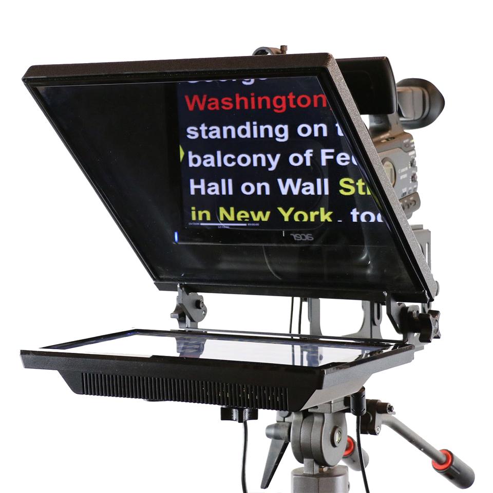 Grabación de Vídeo Profesional con Teleprompter